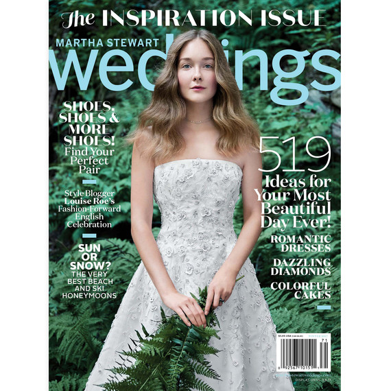 Get a First Look at Our Latest Winter Issue Martha Stewart Weddings