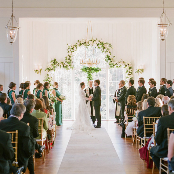 shelby barrett wedding ceremony color