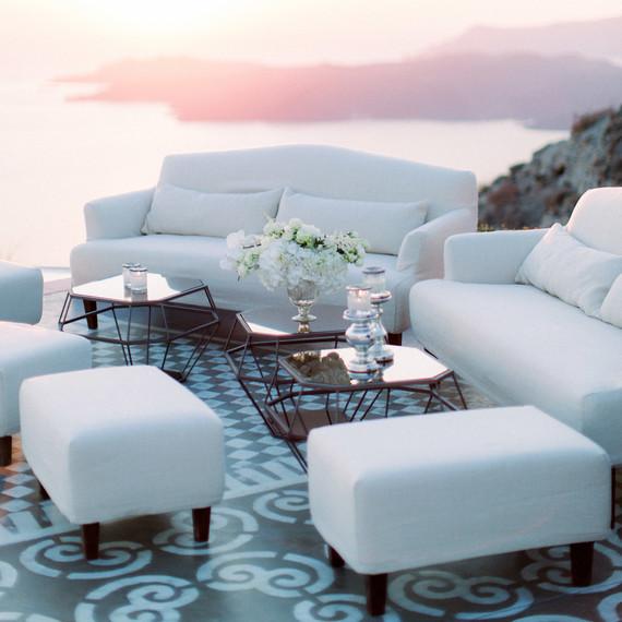 angie prayogo greece wedding lounge furniture