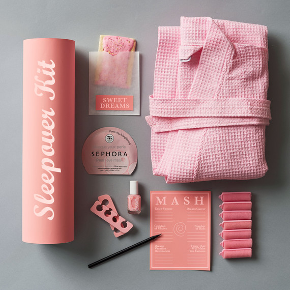 bridesmaids sleepover kit