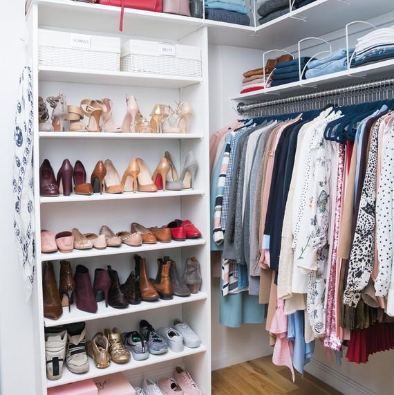 storage stewart online martha clothes rod closet corner home
