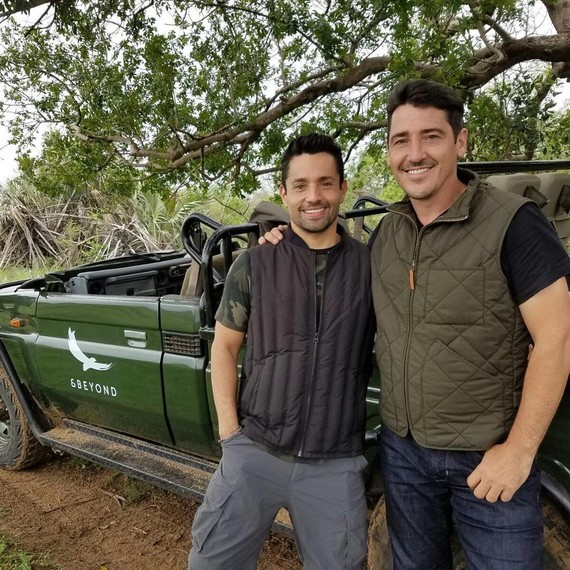 Jonathan Knight and Harley Rodriguez