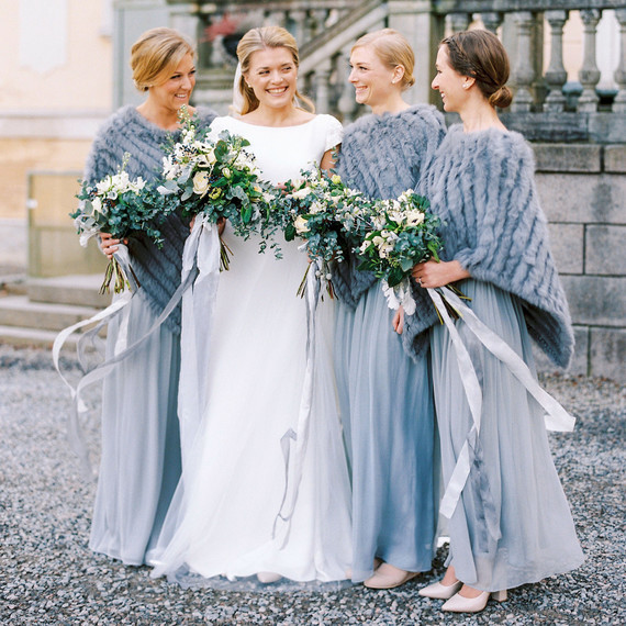 a winter bridesmaid s survival guide martha stewart weddings