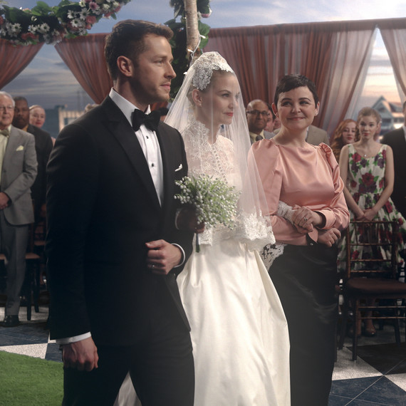 Once Upon a Time TV Wedding Scene