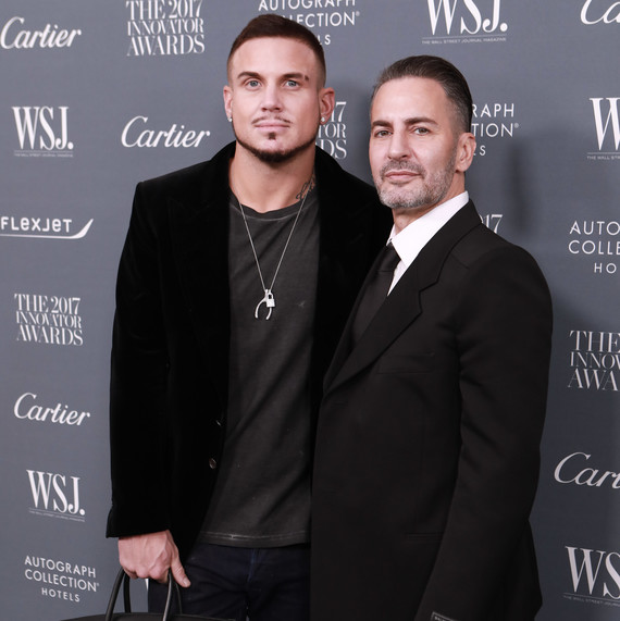 53cc98c05f Fashion Designer Marc Jacobs Is Married! | Martha Stewart Weddings