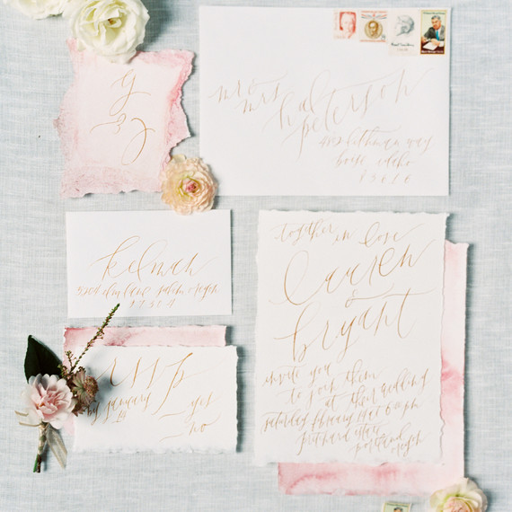 deckle edge invitations maria lamb