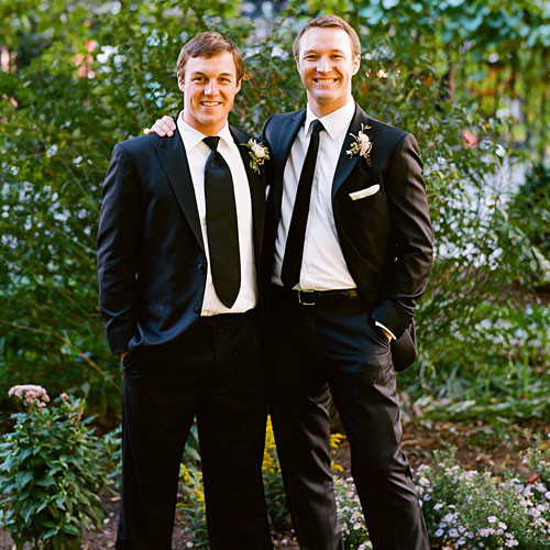 real weddings jole laurel brother