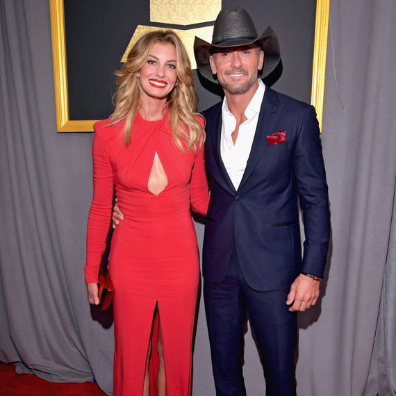 Tim McGraw and Faith Hill Grammy Awards 2017