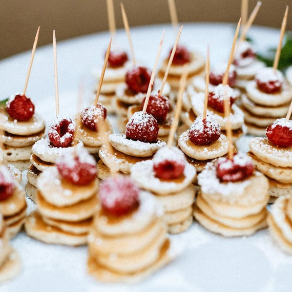 Simple Wedding Reception Food: How To Plan The Perfect Brunch Wedding