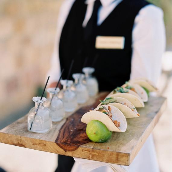 wedding food pairings luna de mare