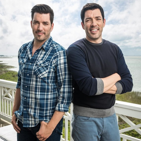 Drew And Jonathan Scott Threw Their Parents A Surprise Vow