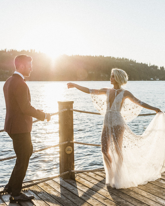 The Best Celebrity Wedding Dresses of 2017