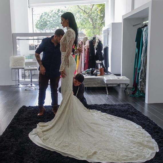 Michael Costello Wedding Dresses