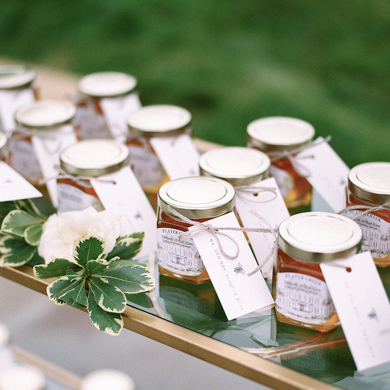 Honey Wedding Favors.How Many Wedding Favors Do You Really Need To Buy Martha Stewart