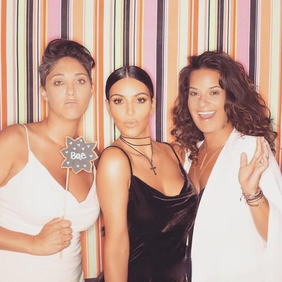 Kim Kardashian wedding guest