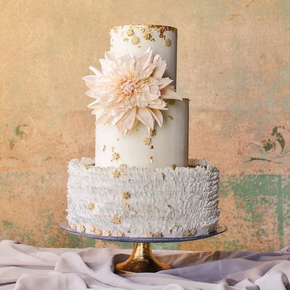 maggie austin dahlia frill cake