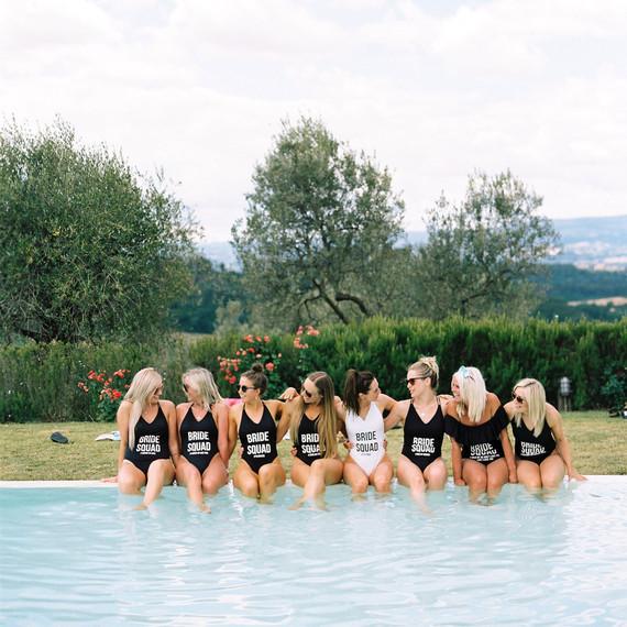 Pool Party Bachelorette Party Theme