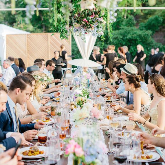 jackie dave wedding dinner