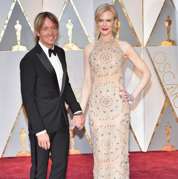 Keith Urban and Nicole Kidman 2017 Oscars Red Carpet