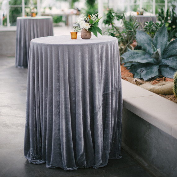 Silver Tablecloth