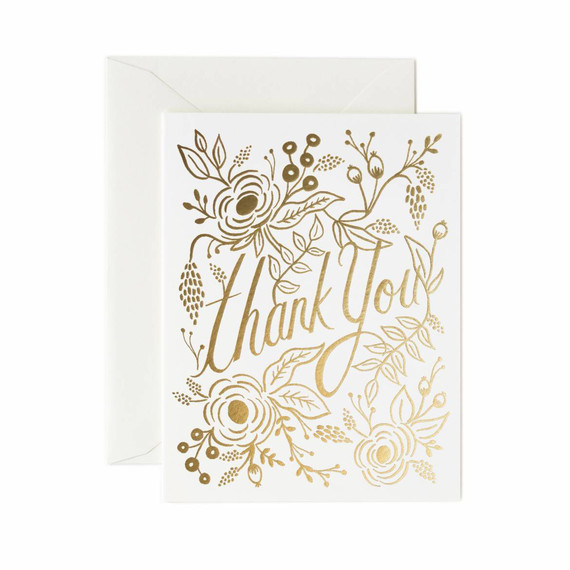 thank you notes rifle paper co marion