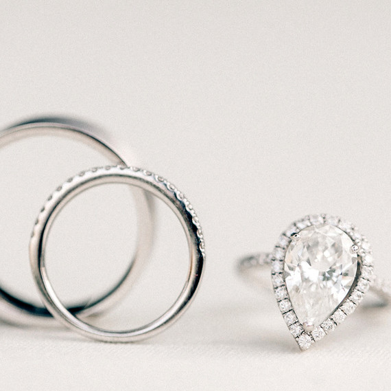 How to Measure Your Ring Size Martha Stewart Weddings