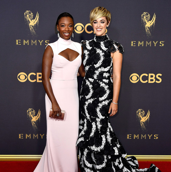 Samira Wiley and Lauren Morelli Emmys 2017