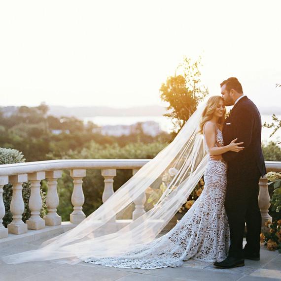 4fa5d9d250ae Why Do Brides Wear Wedding Veils? | Martha Stewart Weddings