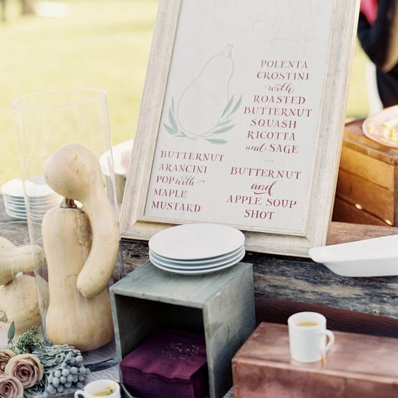 6 Tips for Upgrading Your Fall Wedding Menu | Martha Stewart Weddings