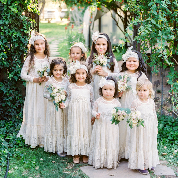 Can Kids Wear White To A Wedding Martha Stewart Weddings