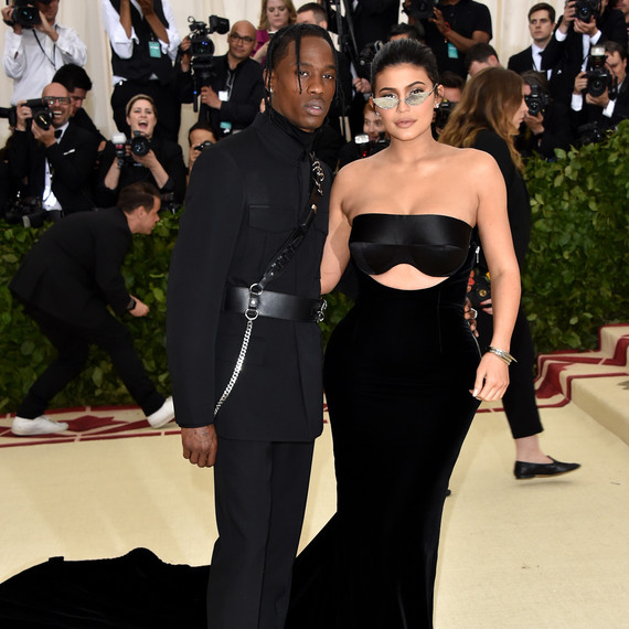 Kylie Jenner and Travis Scott Met Gala 2018
