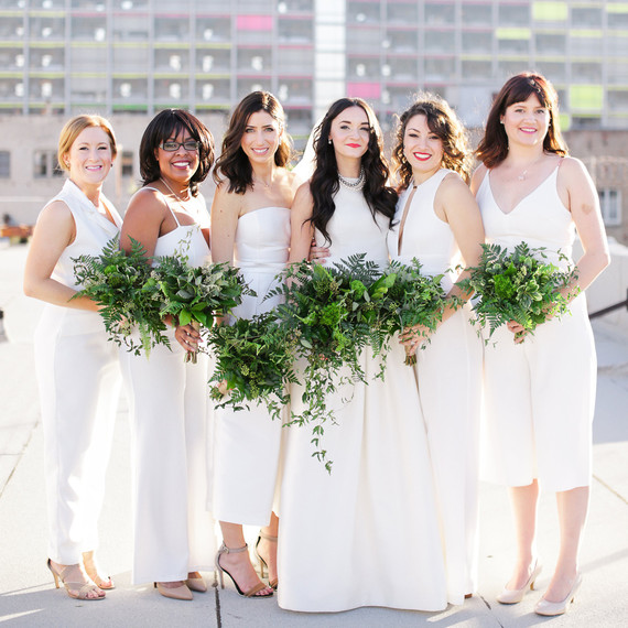 White Wedding Hairstyles: Everything Your Bridal Party Needs To Know About