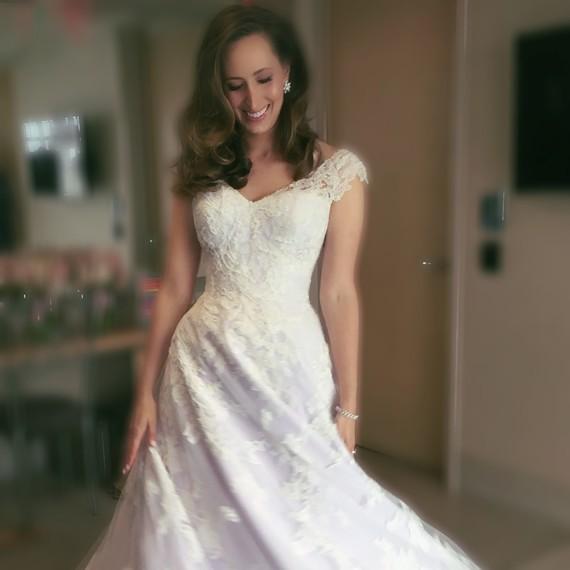 Lauren Roseman Wedding Dress