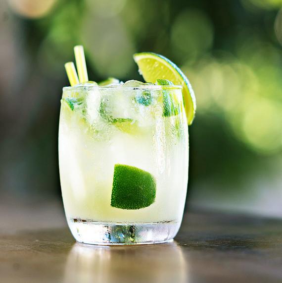 A Caipirinha Cocktail