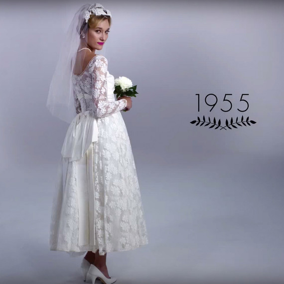 WATCH  100 Years of Wedding Dresses in Just 3 Minutes  30842ba6b