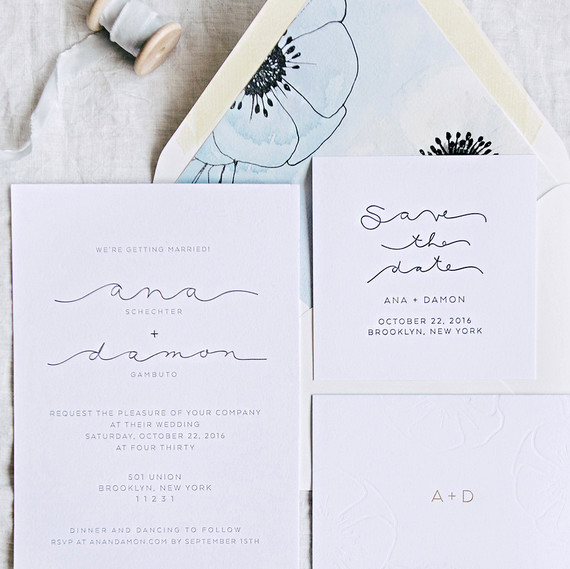 Great The Loveliest Watercolor Wedding Invitations