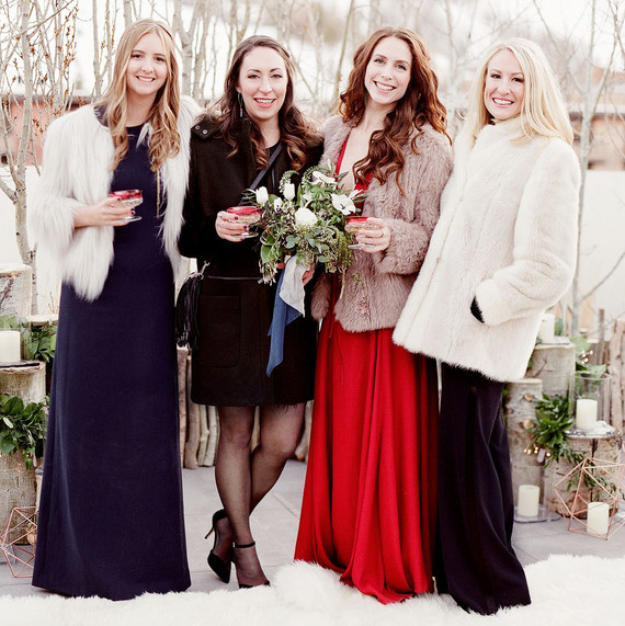 Related: Wedding Guest Dos and Don'ts - For The Guests: What To Wear To A Winter Wedding Martha Stewart