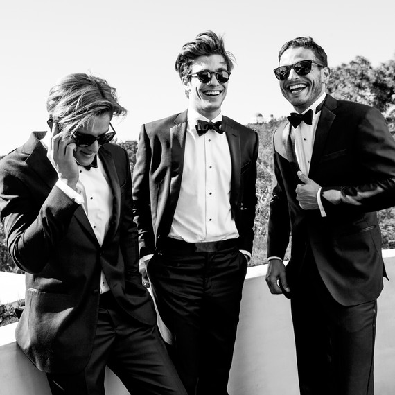 Tux Rental Service for Grooms and Groomsmen Helps Men Suit Up for a ...