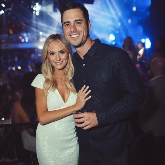Lauren Busnell and Ben Higgins