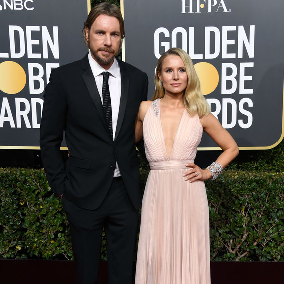 kristen bell and dax shepard 2019 golden globes