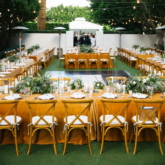 michael thomas wedding reception tables