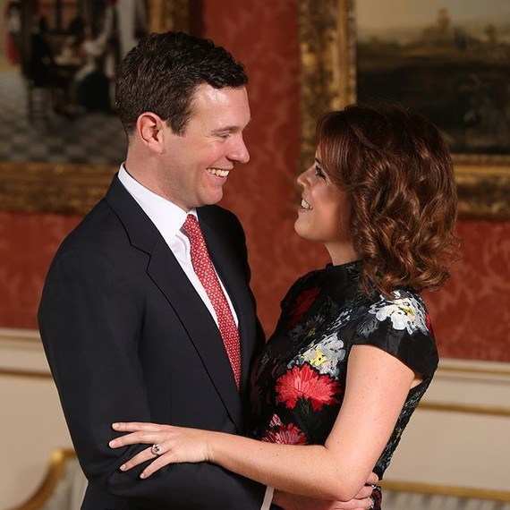 princess eugenie jack brooksbank engagement photo