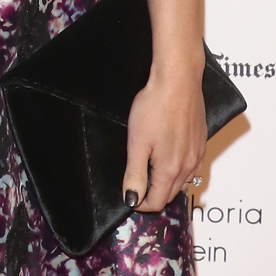 Morena Baccarin Engagement Ring