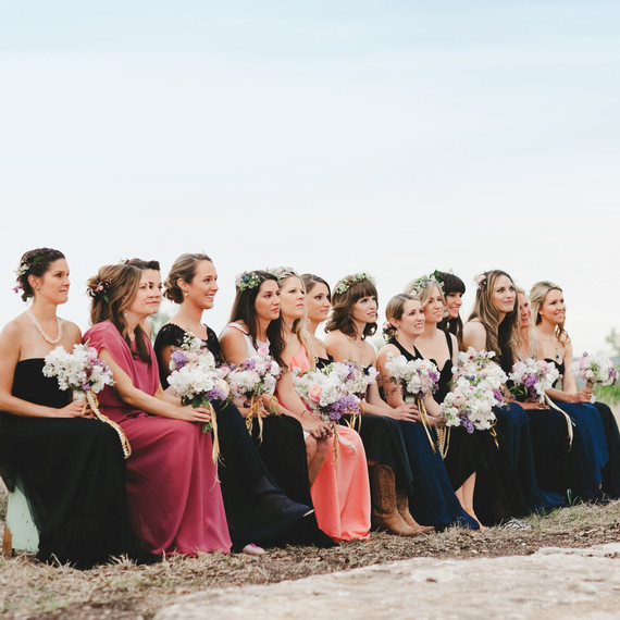 Should Our Wedding Party Sit Or Stand During The Ceremony