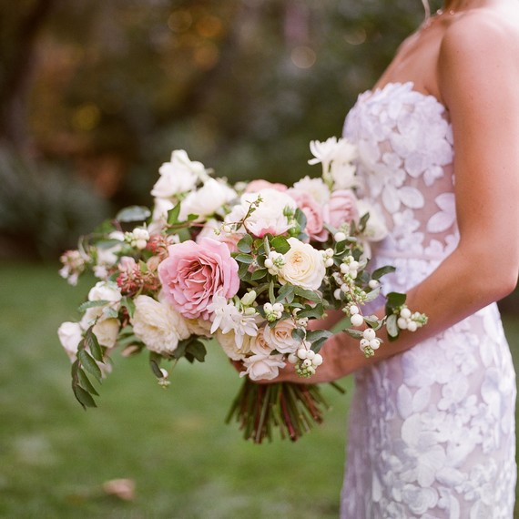 caitlin michael wedding bouquet