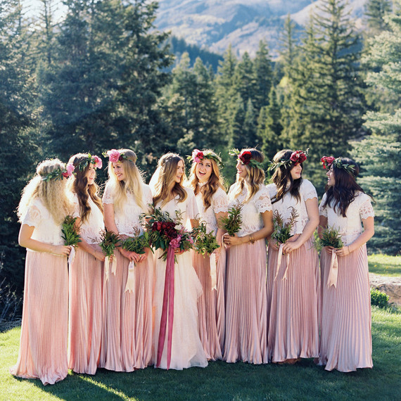 ciera preston wedding bridesmaids