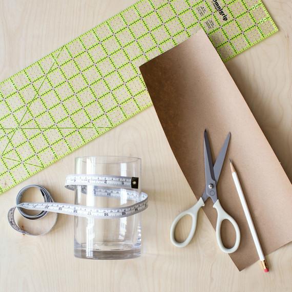 david stark design bookbinding vase step one