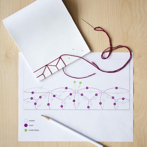 david stark design bookbinding vase step six