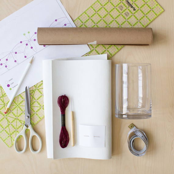 david stark design bookbinding vase supplies
