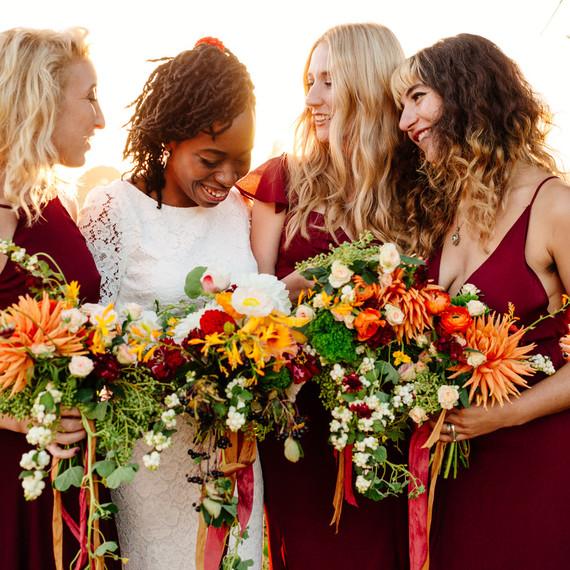 7 hot winter wedding colors martha stewart weddings erica jordy wedding bridesmaids 4614 s111971 0715g junglespirit Choice Image